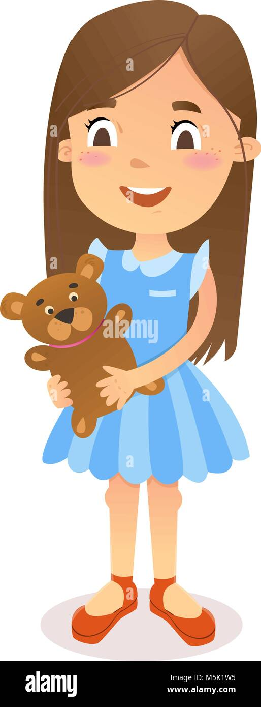 Cartoon Girl High Resolution Stock Photography And Images Alamy