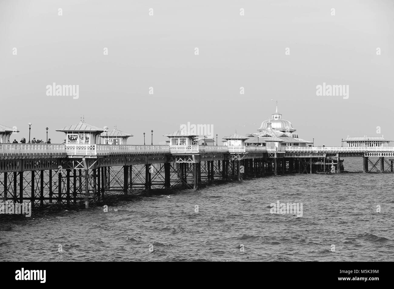 Llandudno town and seaside resort - Stock Image