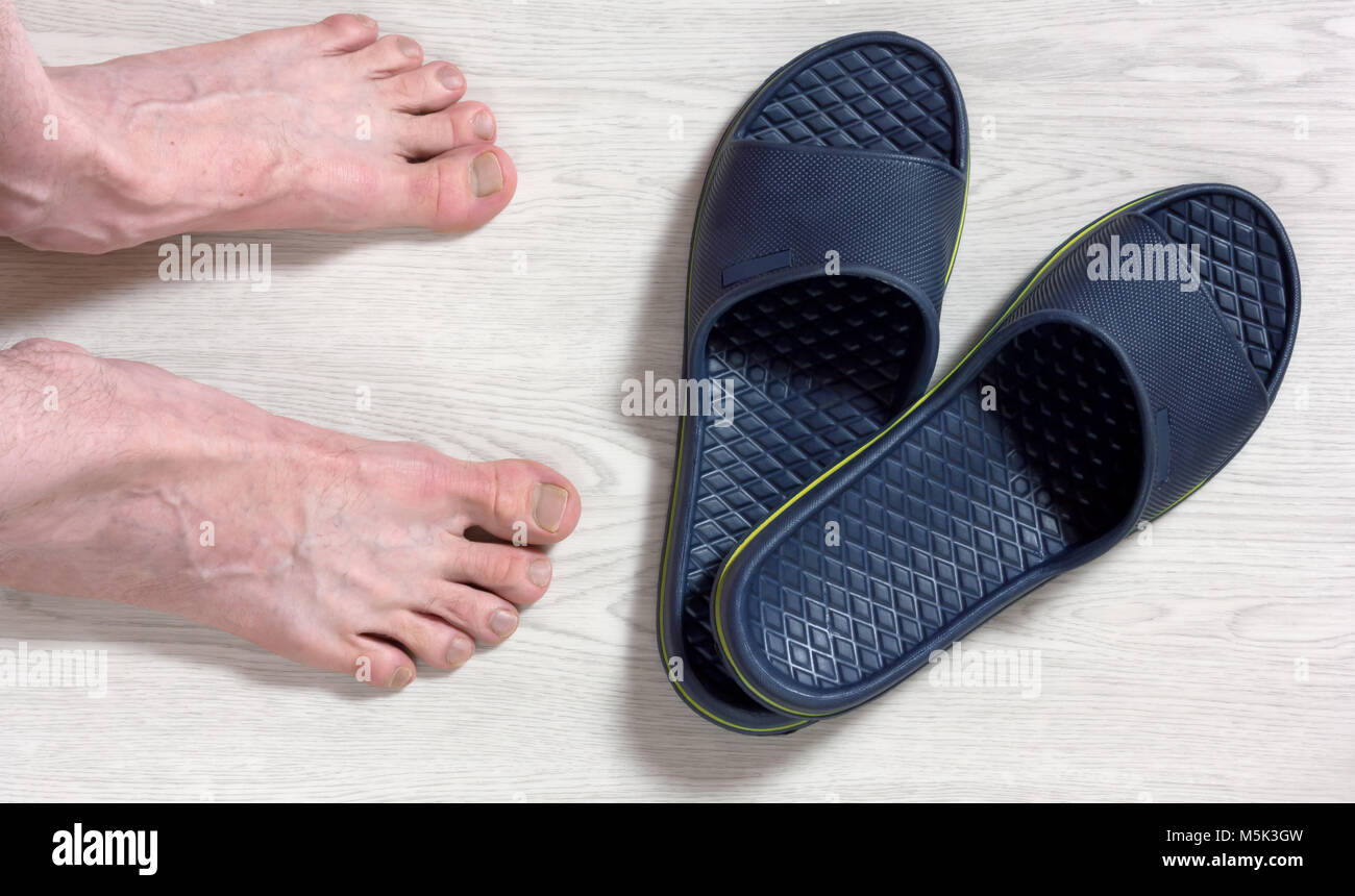ad01436425d31a Flip Flops Feet Stock Photos   Flip Flops Feet Stock Images - Alamy