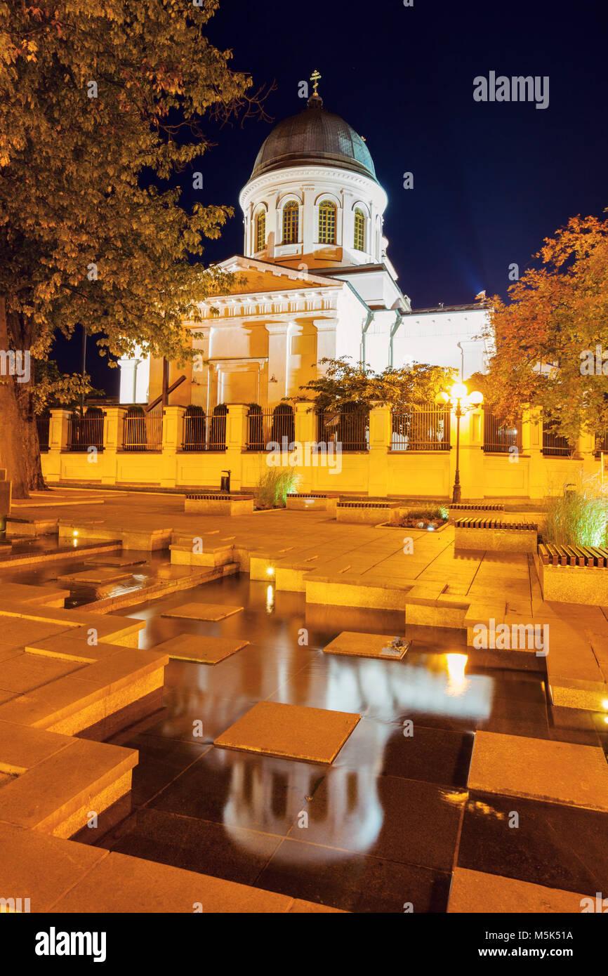 St. Nicholas Orthodox church in Bialystok. Bialystok, Podlaskie, Poland. - Stock Image