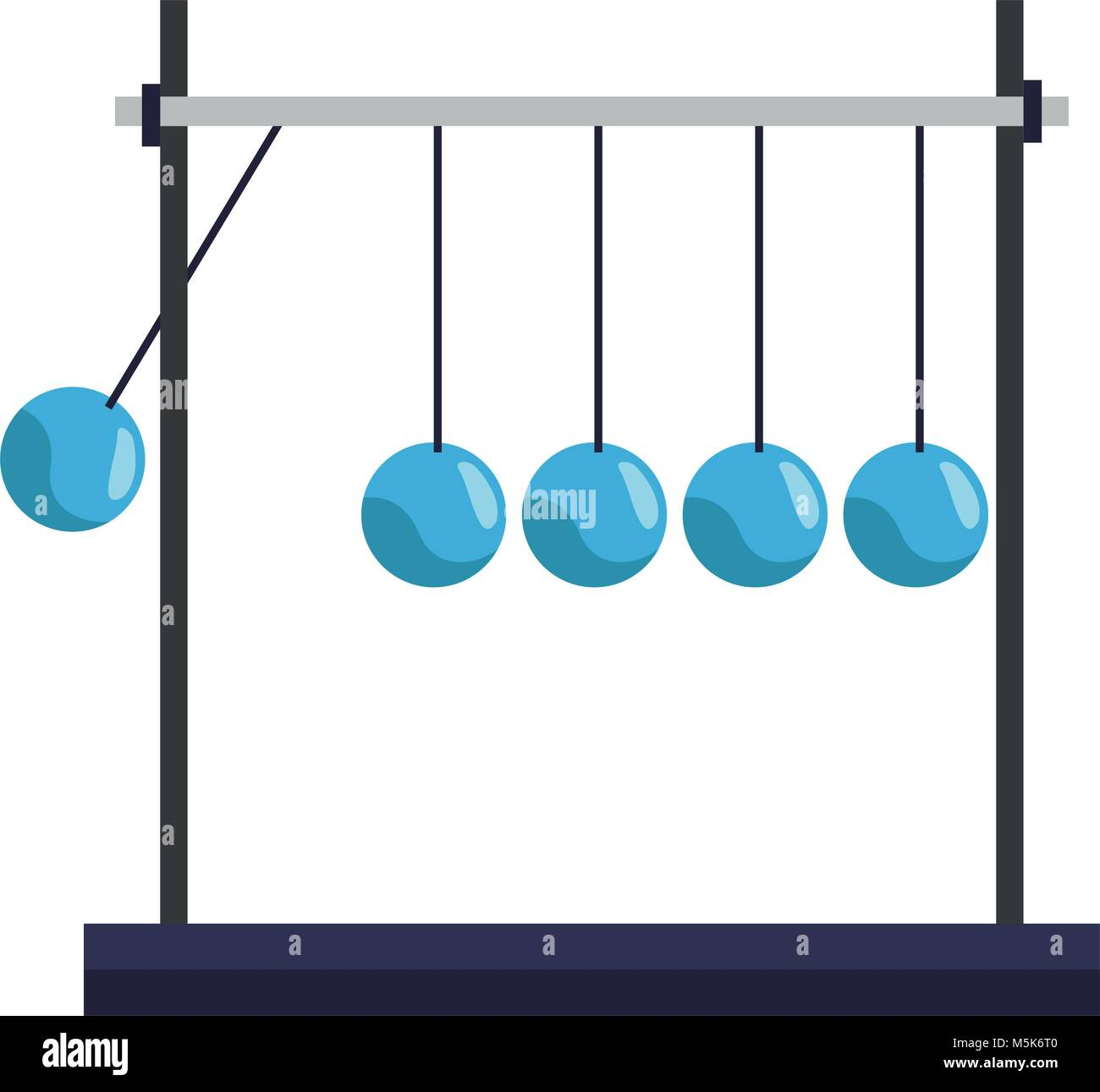 Pendulum Game Stock Photos Images Alamy Back Gt Gallery For Simple Free Body Diagram Newton Cradle Image