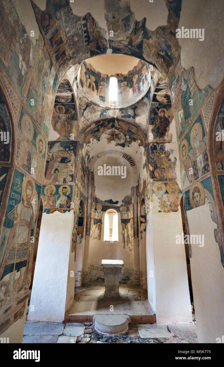 ltar Iconography Zemen Monastery Bulgaria - Stock Image