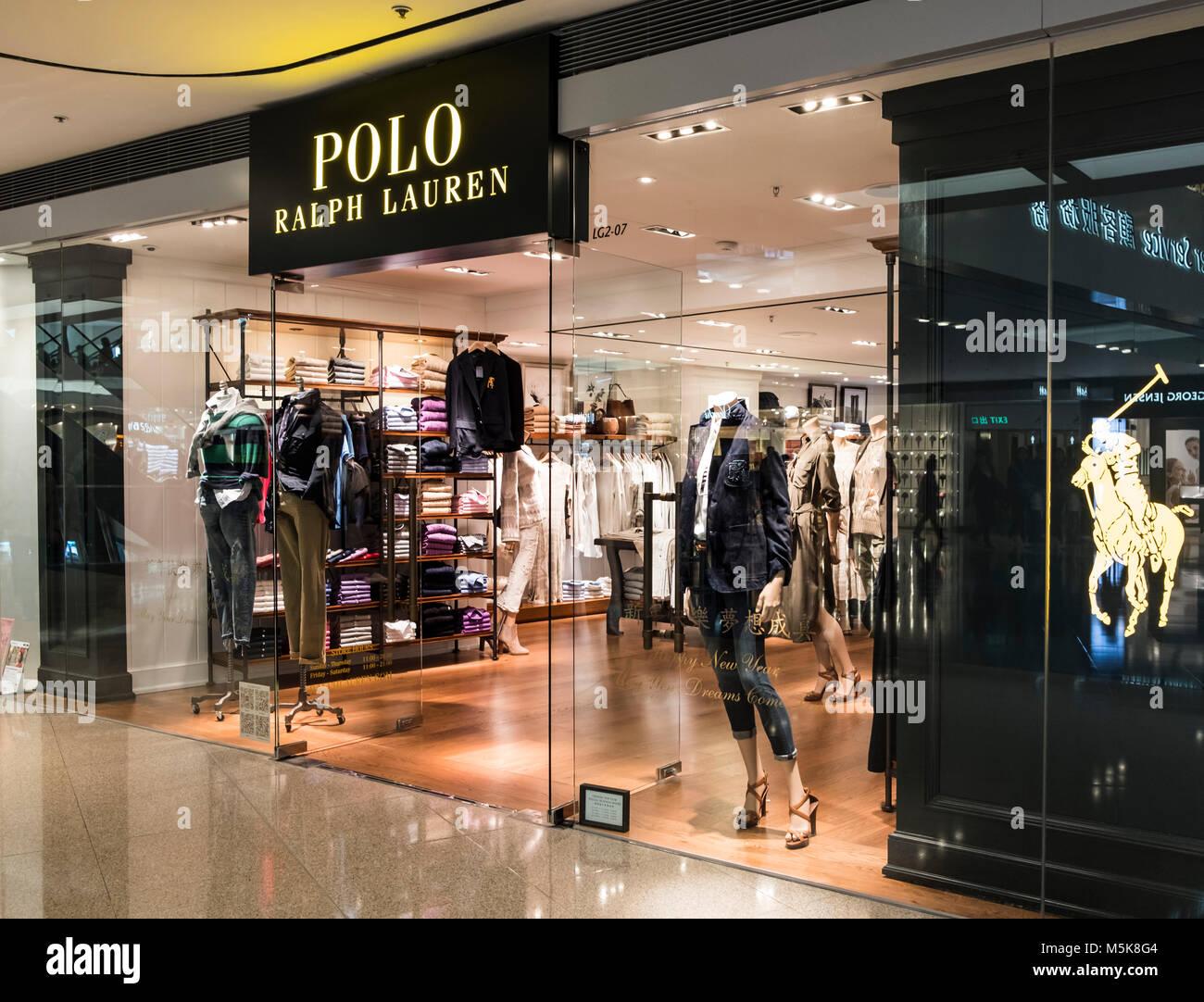 3b02ca1cd6 Ralph Lauren Store Interior Stock Photos   Ralph Lauren Store ...