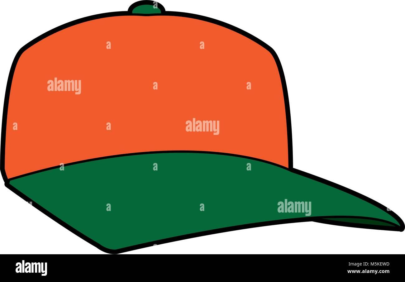 baseball cap sport fashion clothing head - Stock Image