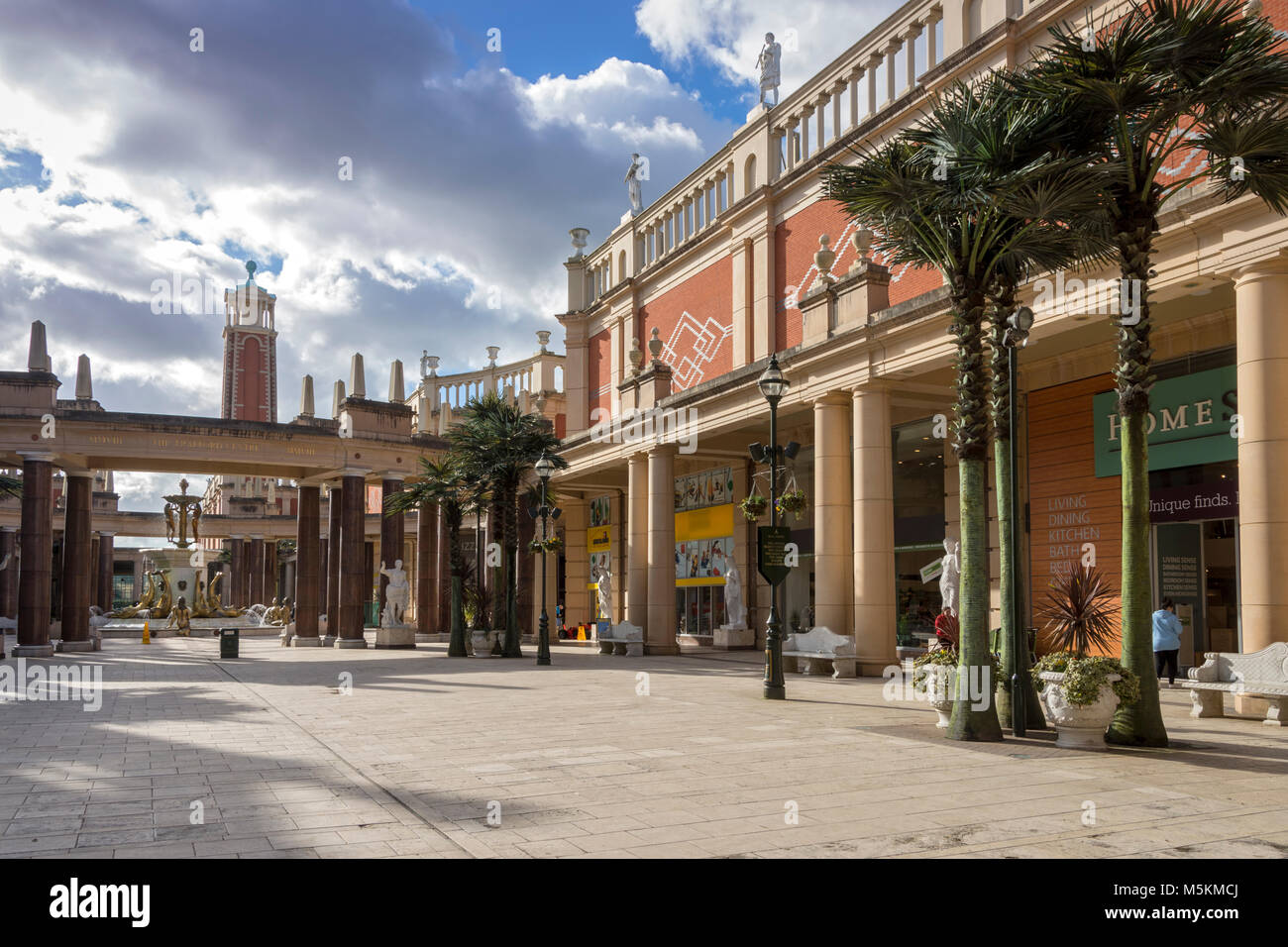 Barton Square at the intu Trafford Centre, Manchester, UK - Stock Image