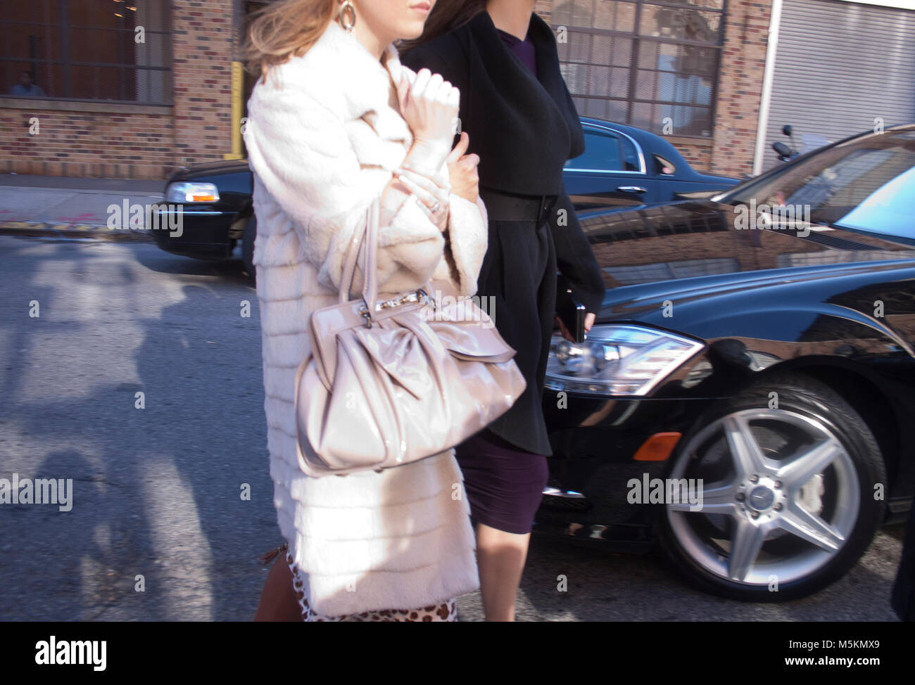 Fashion Week Fall Winter. New York High Society - Stock Image