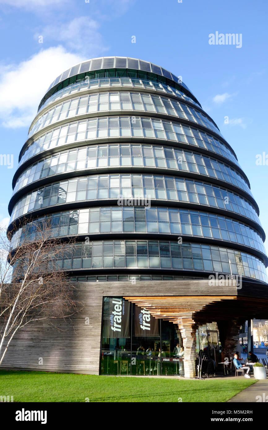 City Hall, London, England - Stock Image