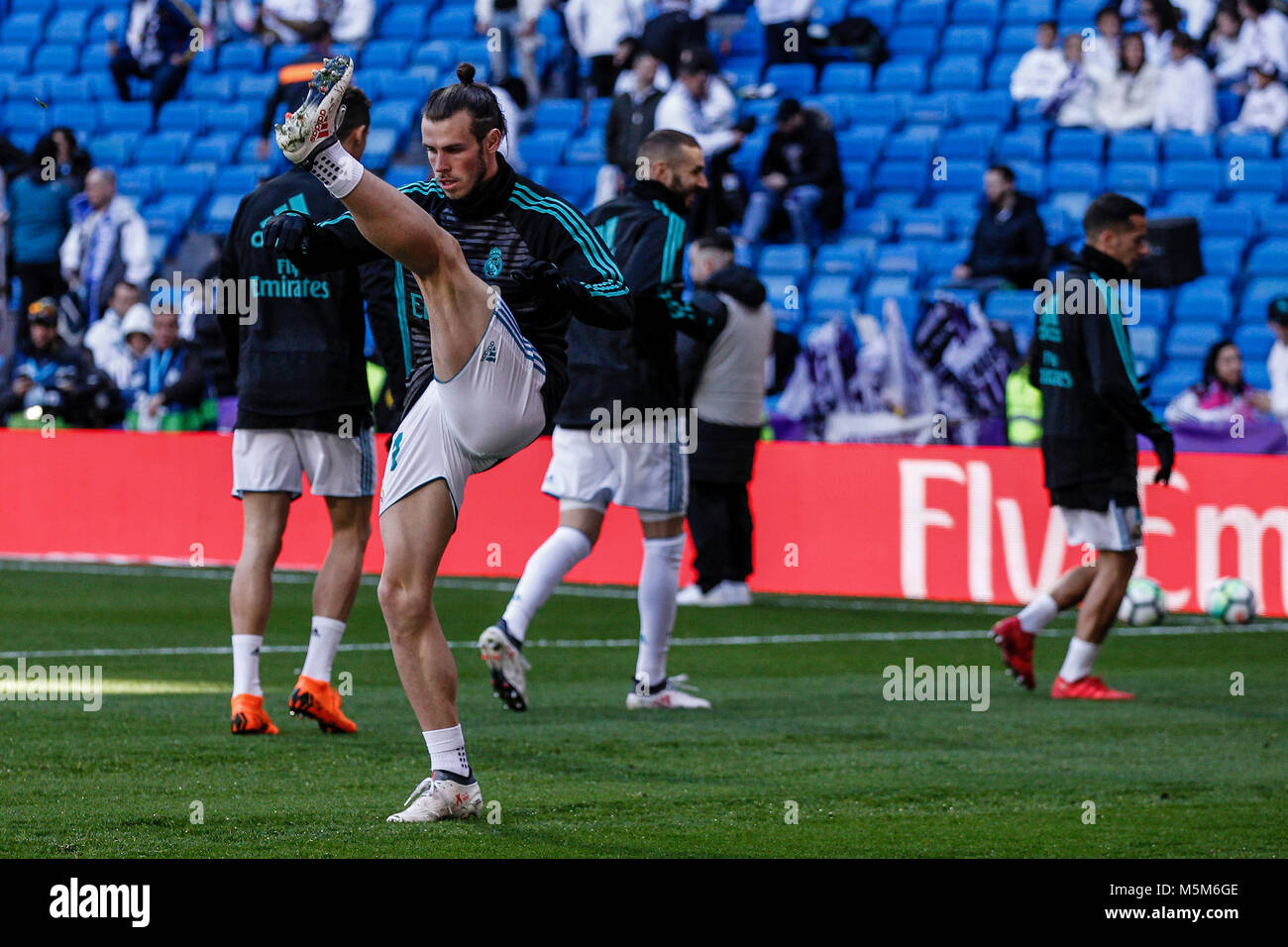 super popular 1601f f0b10 Gareth Bale (Real Madrid) Pre-match warm-up La Liga match ...