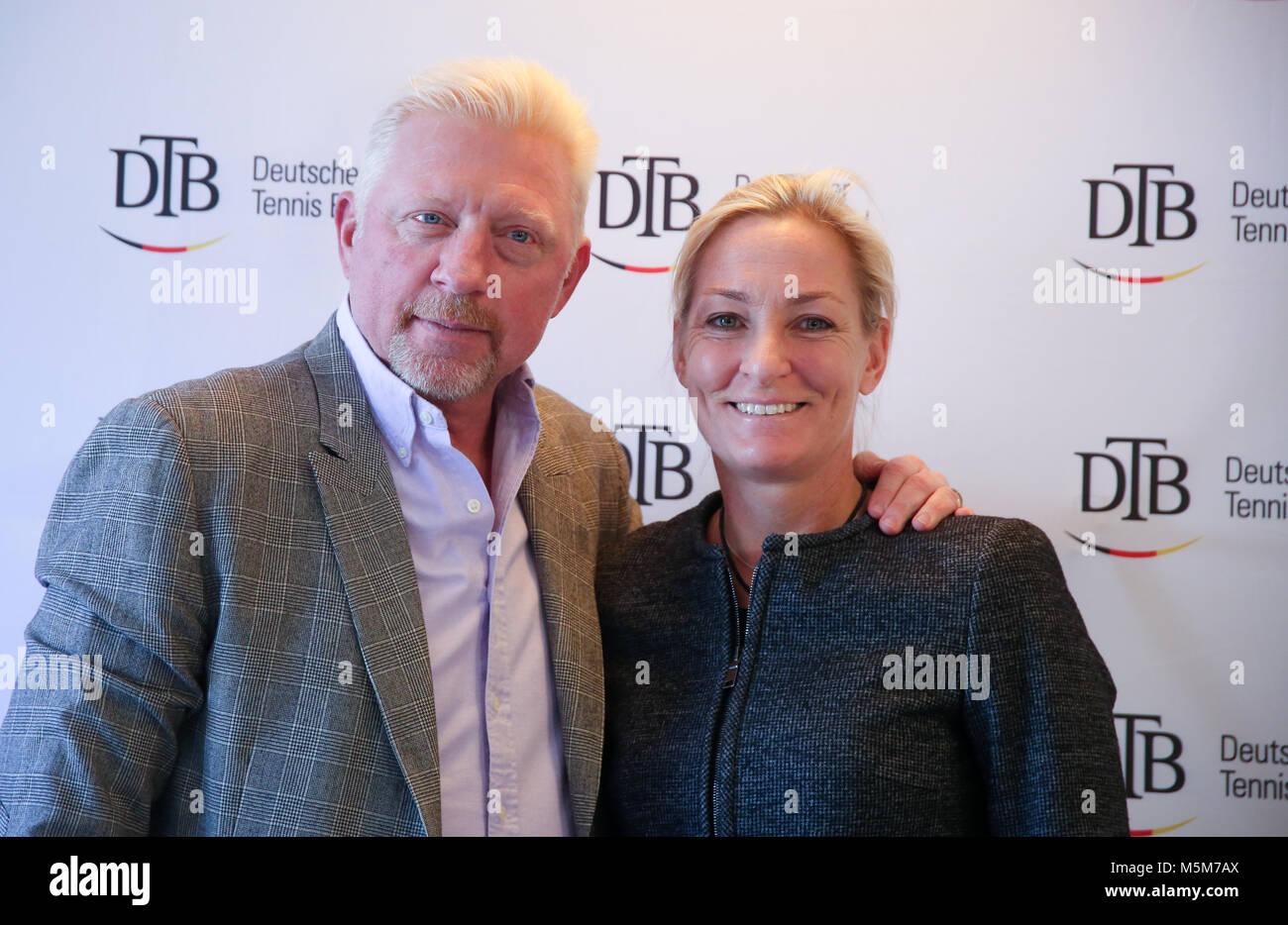 Barbara And Boris Becker Stock Photos & Barbara And Boris Becker