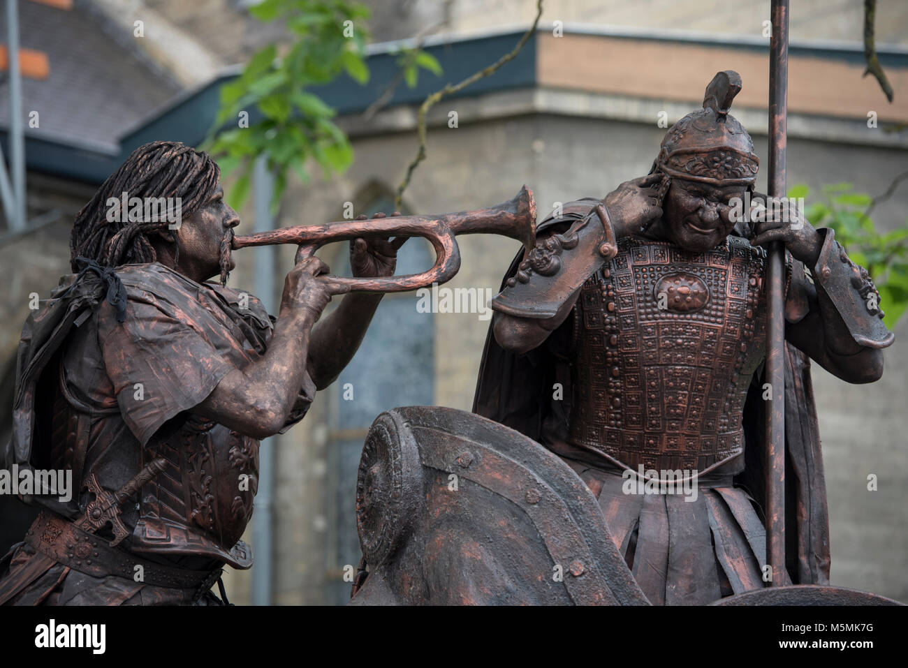 The Netherlands. Valkenburg. 11-06-2017. Dutch Championship Living Statues. - Stock Image