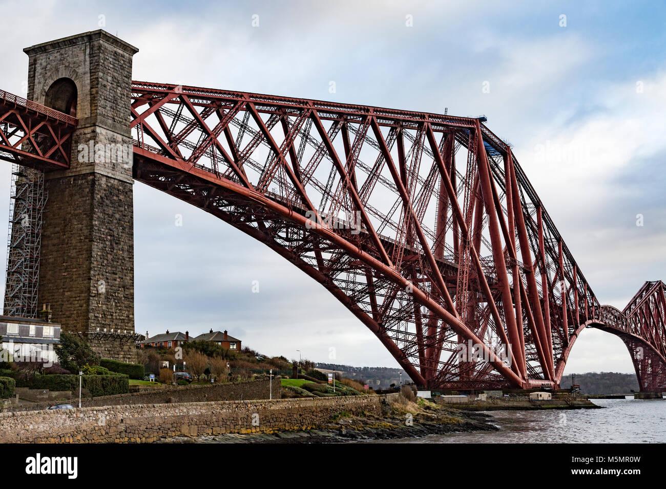 Forth Railway Bridge, Scotland - Stock Image