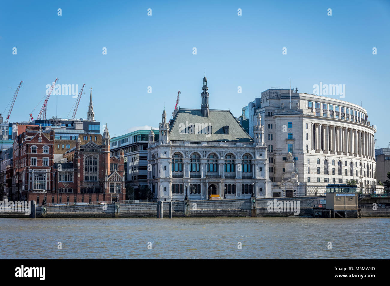 Unilever House Building in London - Stock Image