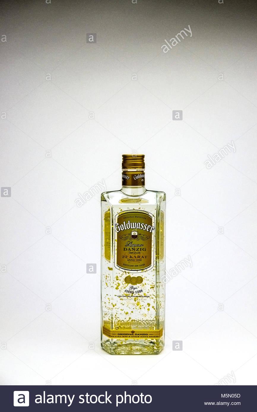 Danziger Goldwasser - Stock Image
