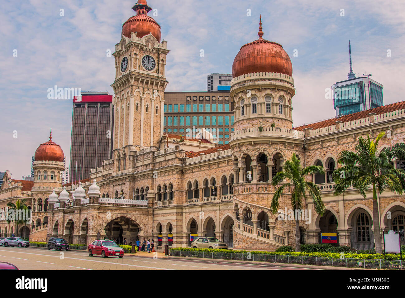 Sultan Abdul Samad Building In Independence Square Kuala Lumpur Stock Photo Alamy