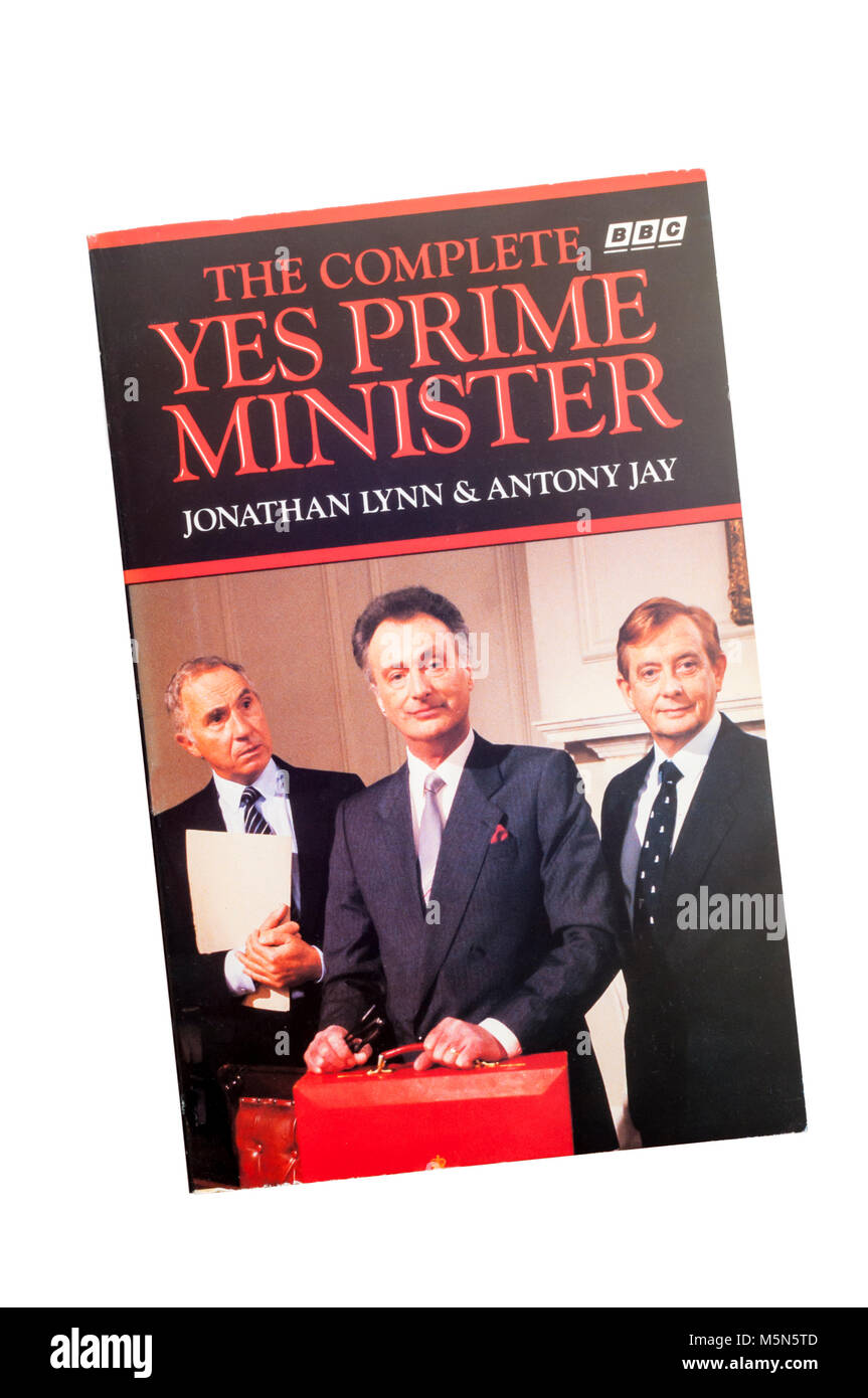 The Complete Yes Prime Minister: The Diaries of the Right Hon.James Hacker. Published 1989. Stock Photo
