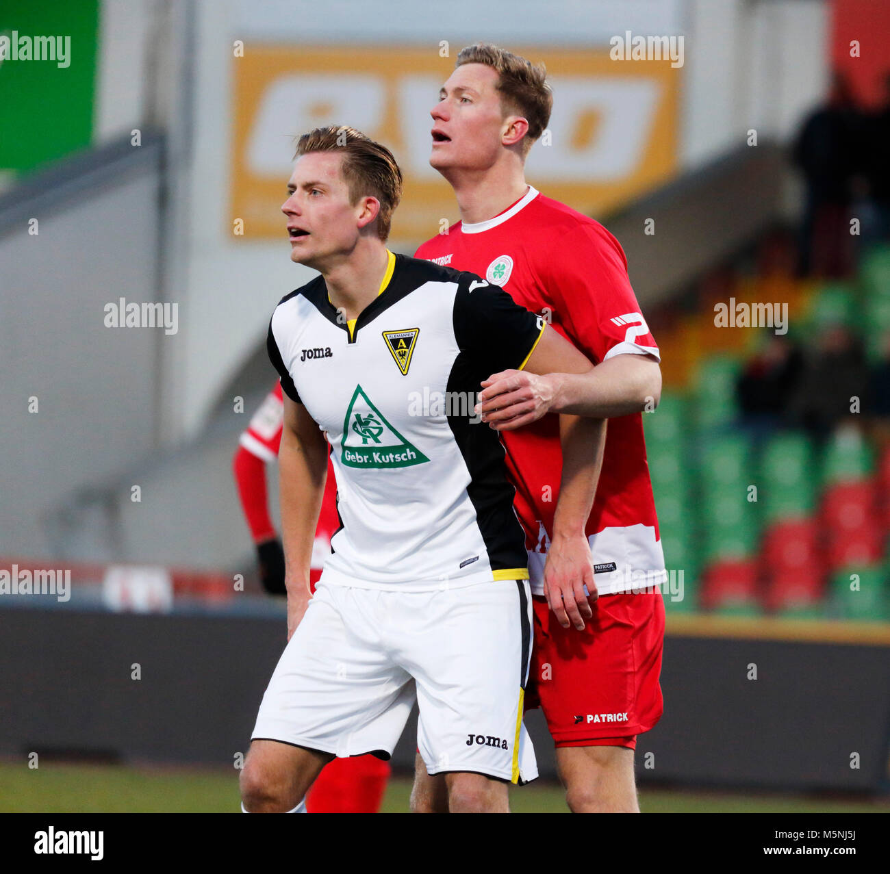 sports,football,Regional League West,2017/2018,Rot Weiss Oberhausen vs Alemannia Aachen 1:0,Stadium Niederrhein Stock Photo