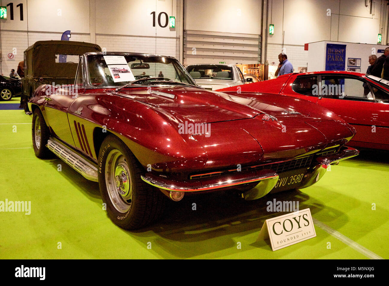 1966 Chevrolet Corvette Stingray Stock Photos Coupe Image