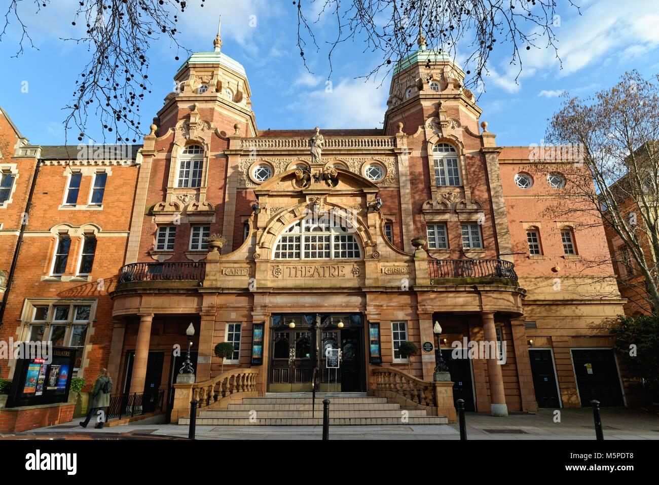 Exterior of Richmond Theatre, Richmond on Thames Greater London England UK - Stock Image