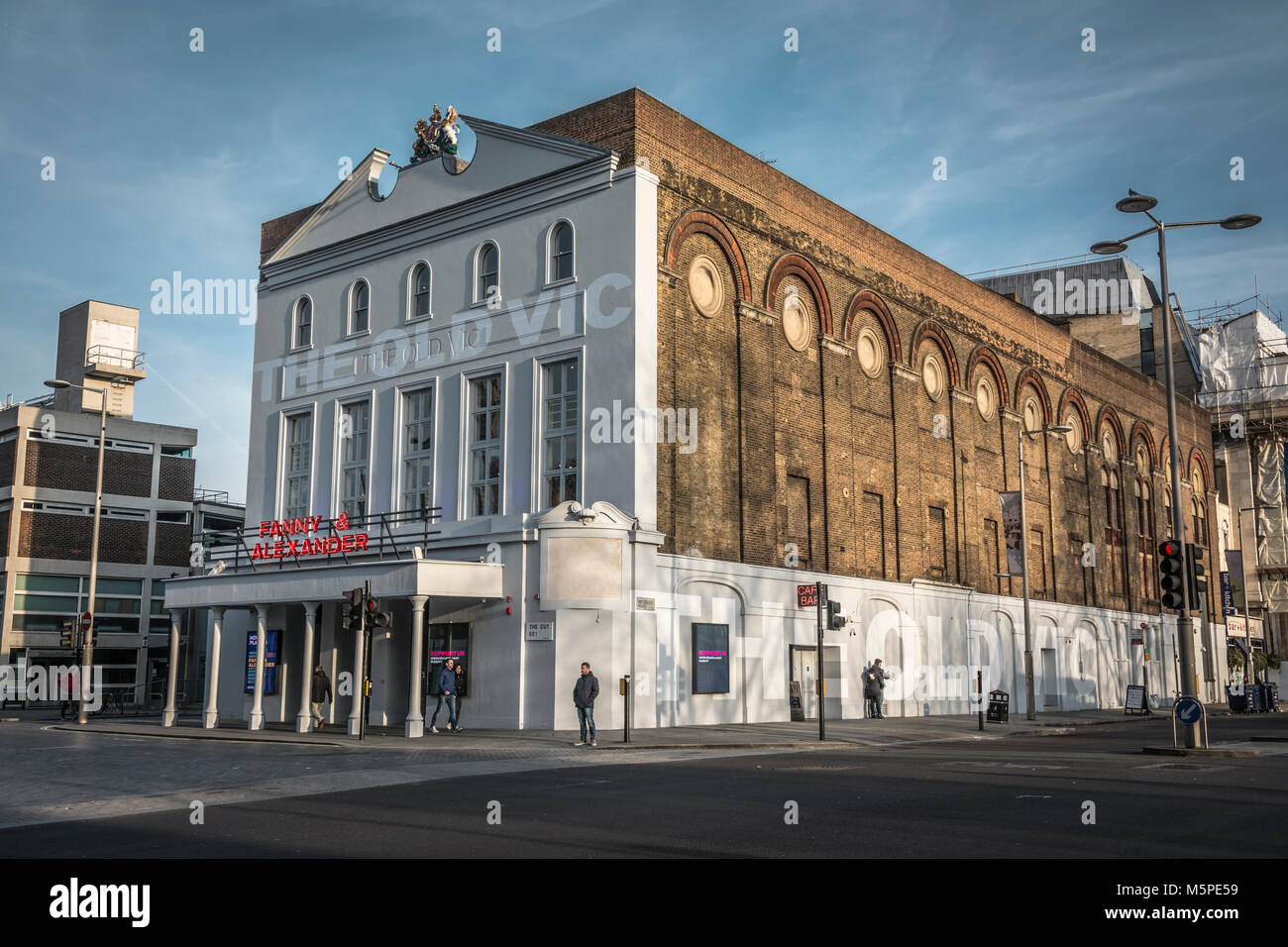 Ingmar Bergman's Fanny and Alexander at The Old Vic theatre on the Cut, Waterloo, London, UK - Stock Image