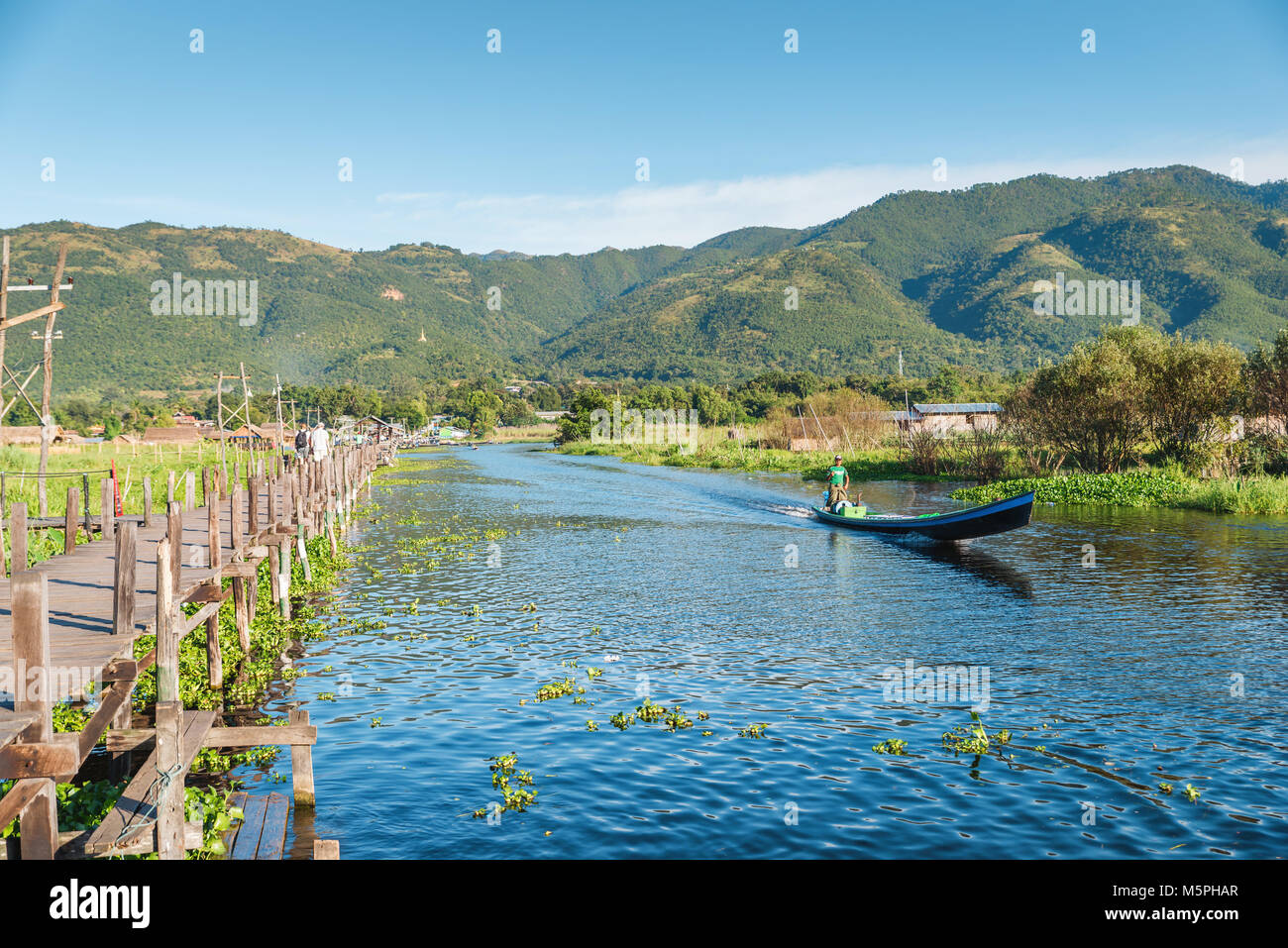 Inle Lake, Myanmar - Stock Image