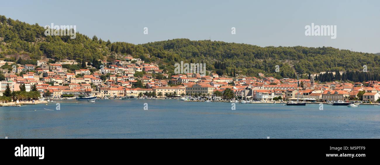 Vela Luka, Croatia. - Stock Image