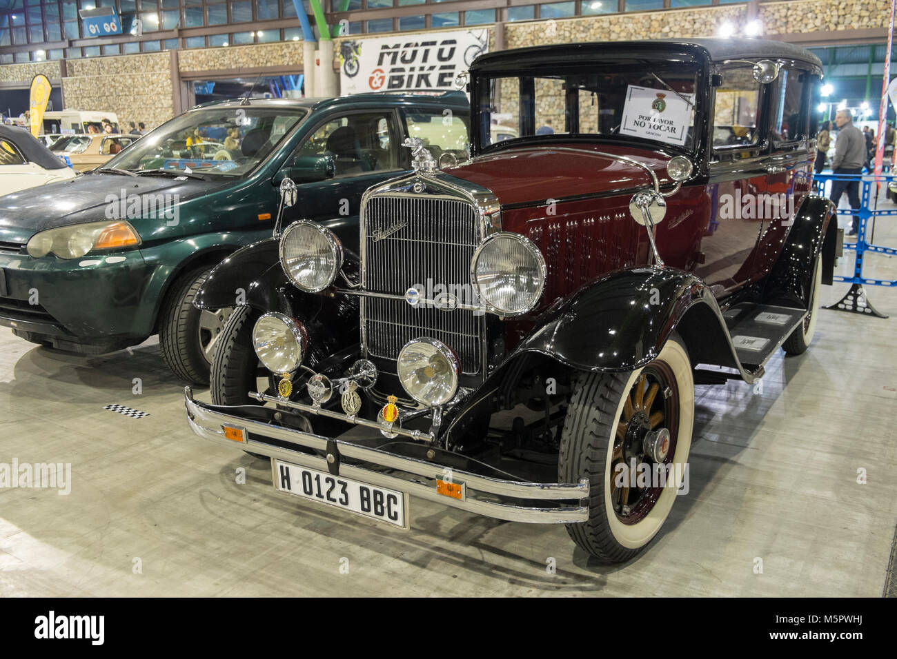 Studebaker. Retro Málaga 2018. Spain. - Stock Image