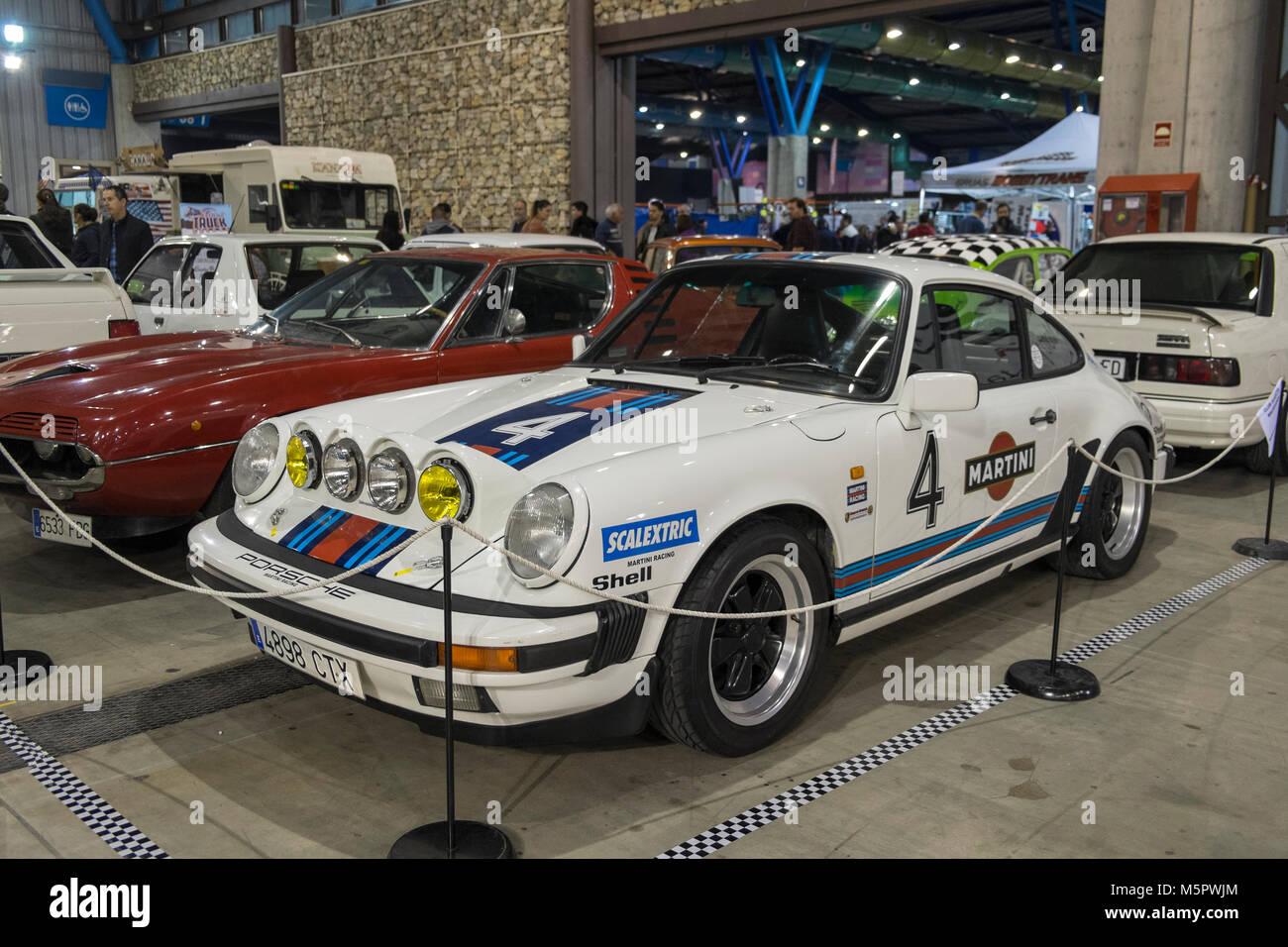 Porsche 911 Martini Retro Malaga 2018 Spain