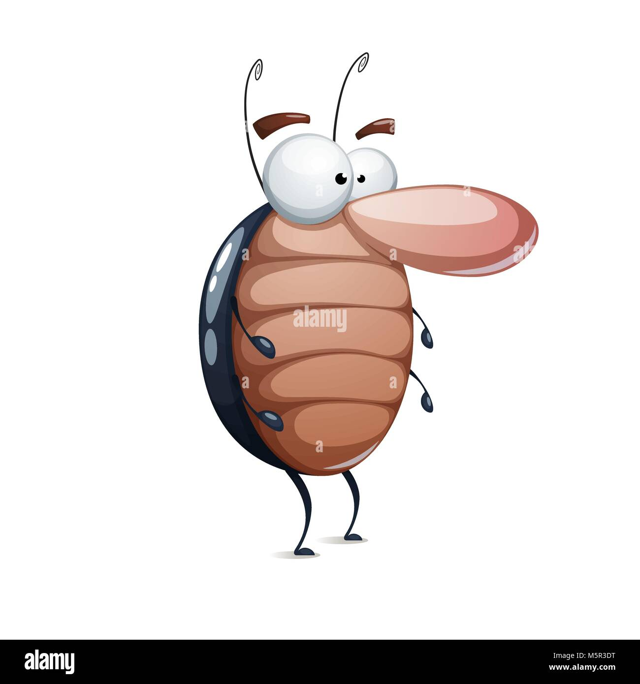 Vector Illustration Cartoon Cockroach Stock Photos & Vector ...