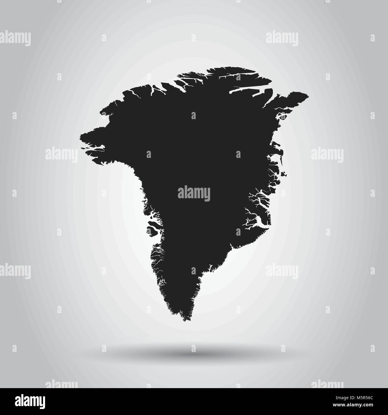 Greenland vector map black icon on white background stock vector greenland vector map black icon on white background gumiabroncs Image collections