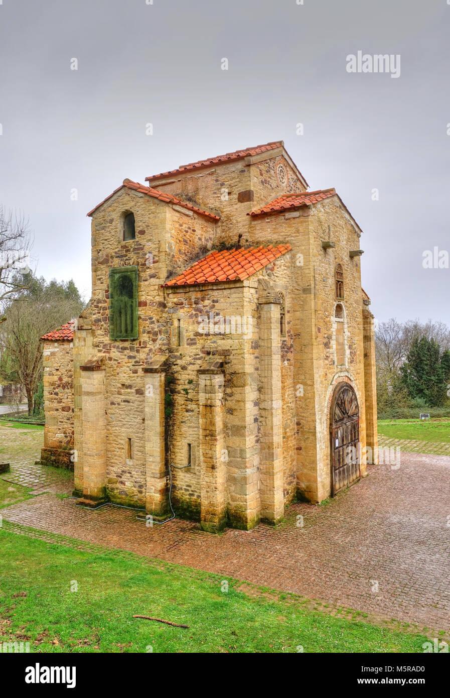 San Miguel de Lillo, Oviedo, Spain - Stock Image