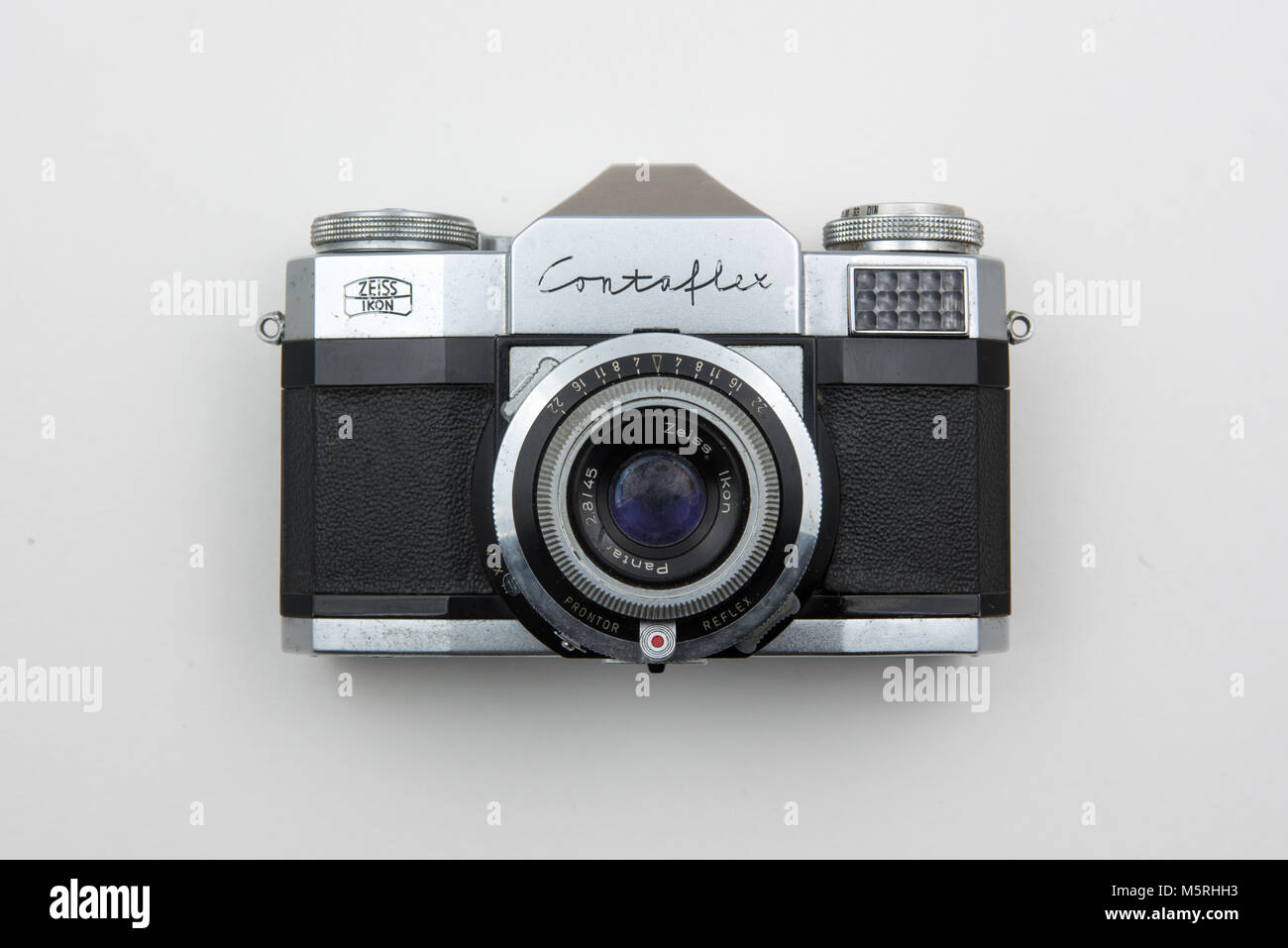 work in the studio research on old cameras - Stock Image