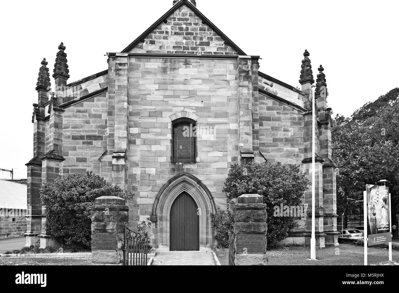The Garrison Anglican Church also known as Holy Trinity. Millers Point. AUSTRALIA - Stock Image