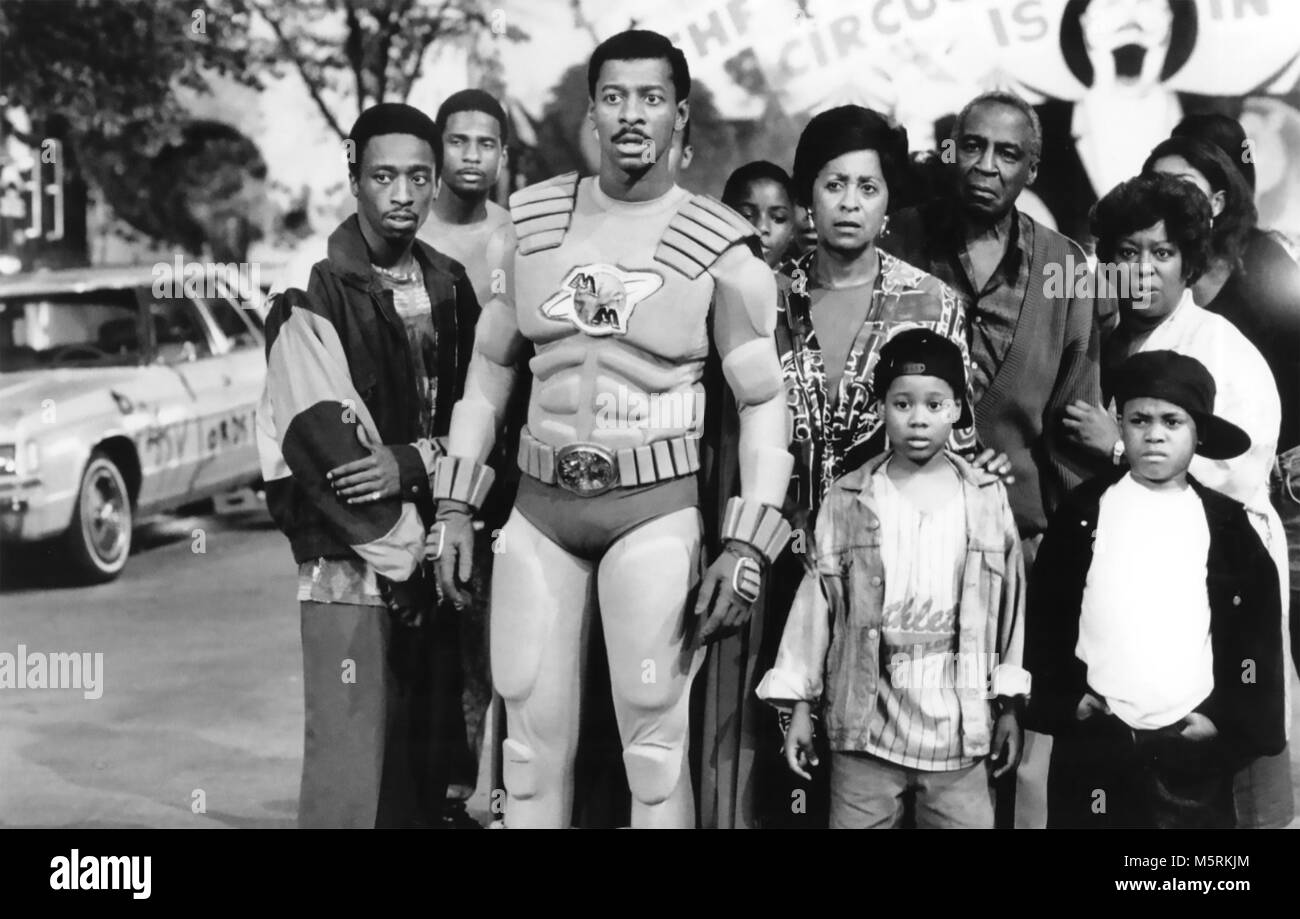 THE METEOR MAN 1993 MGM film with Robert Townsend - Stock Image