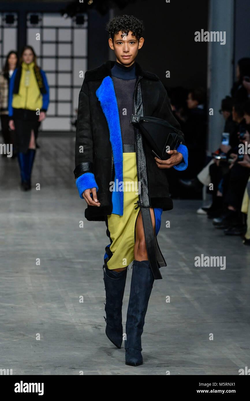 e6b0b5cc26 Milan Woman's Fashion Week fall winter 2019. Milano Moda Donna, fall ...