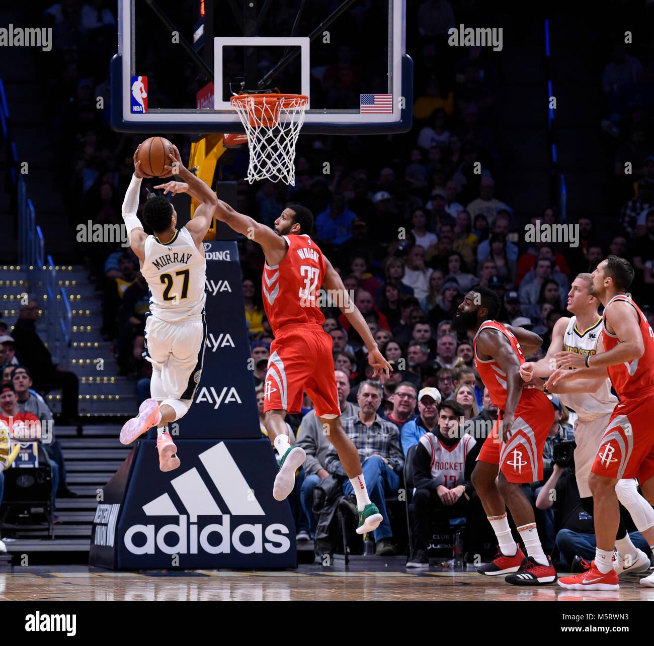 Denver Nuggets Guards: James Harden Stock Photos & James Harden Stock Images