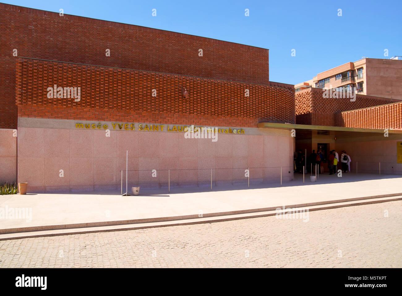d7d87c8da6e Yves Saint Laurent Musée designed by The Studio Ko Marrakech, Morocco. -  Stock Image