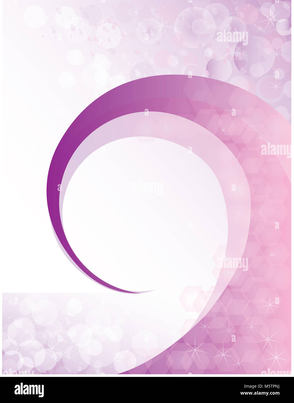 Purple Swirl Background Poster Template