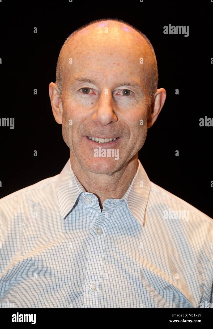 INGEMAR STENMARK former World Cup alpine ski racer from Sweden 2018 Olympic gold medalist and World cup Champion - Stock Image
