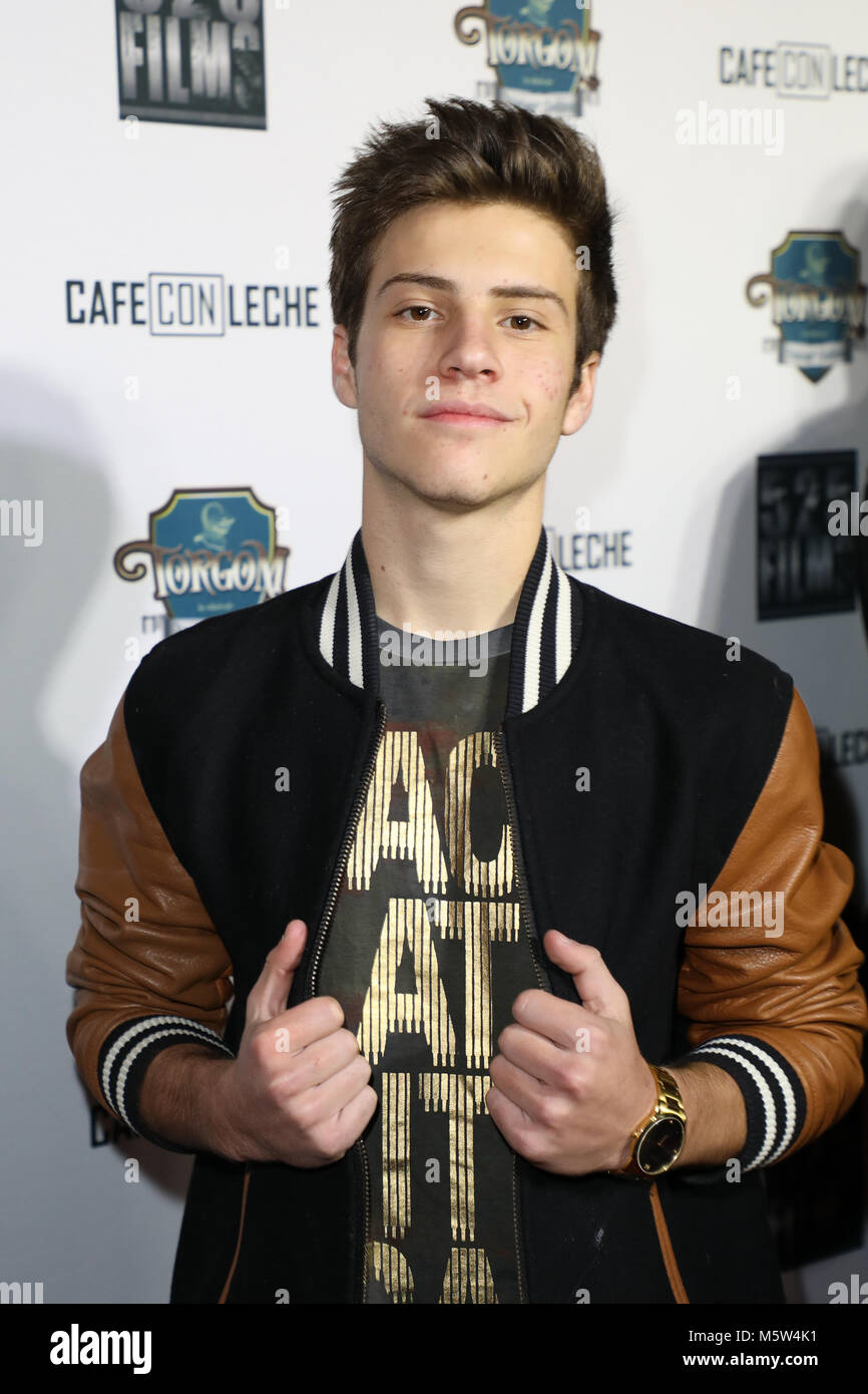 The Premiere of 'Cafe Con Leche' at the ArcLight Hollywood Cinemas in Los Angeles, California  Featuring: - Stock Image