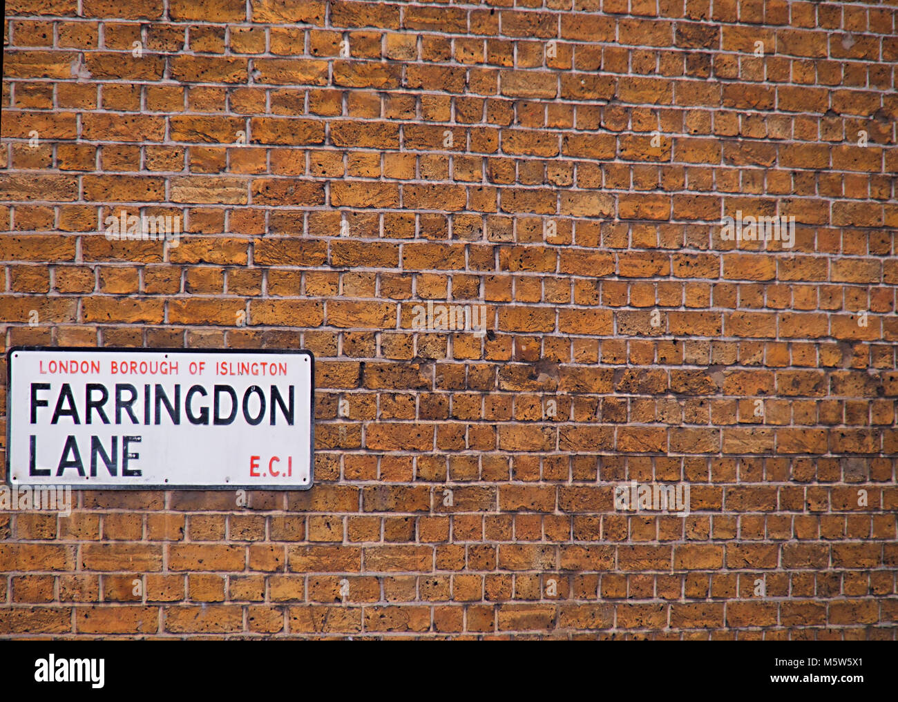 Farringdon Hipster area of London - Stock Image