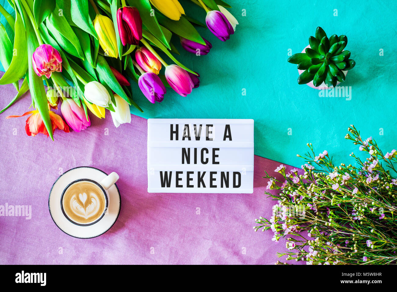 Have A Nice Weekend Stock Photos Have A Nice Weekend Stock Images
