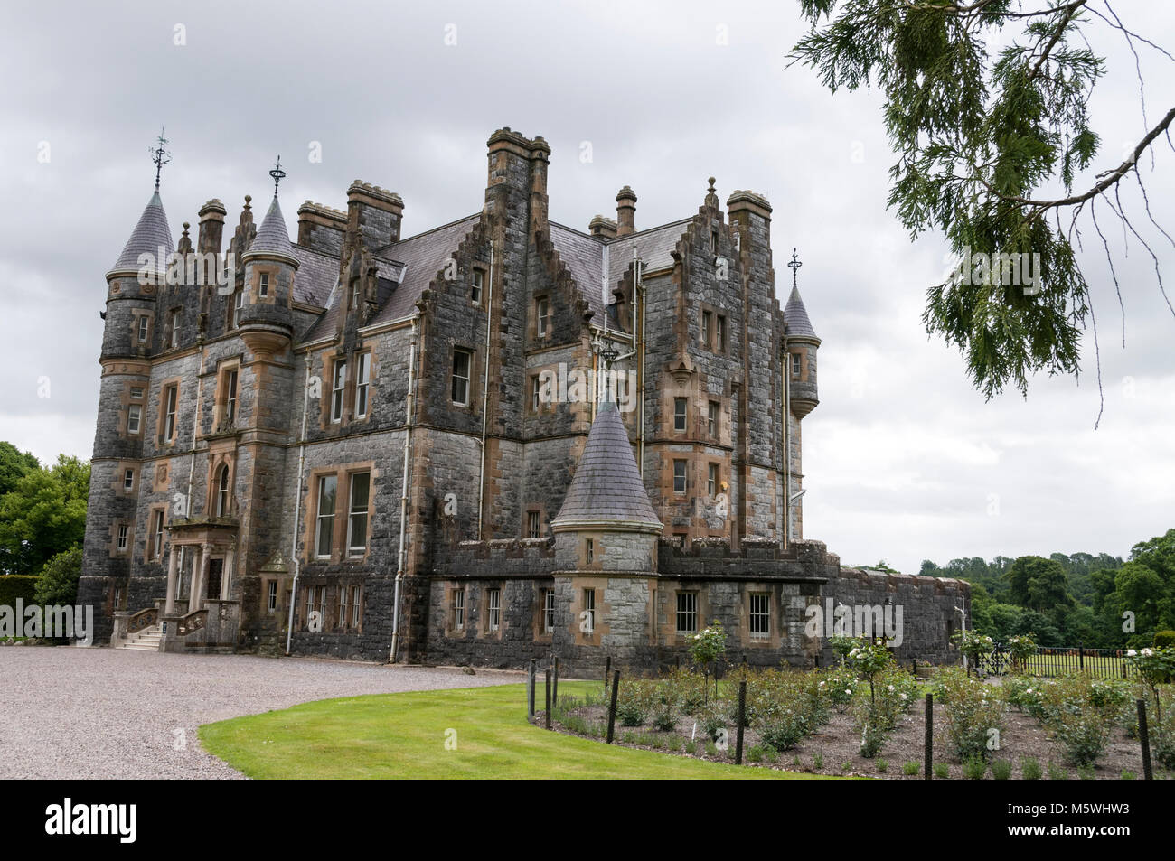 Blarney House close to  Blarney Castle near Cork in Southern Ireland Stock Photo