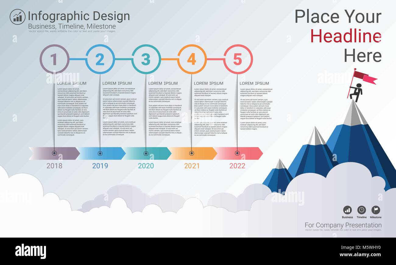 Road Map Graphic Design