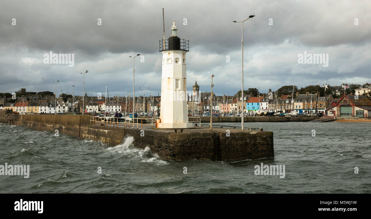 Astruther, Fife Scotland - Stock Image