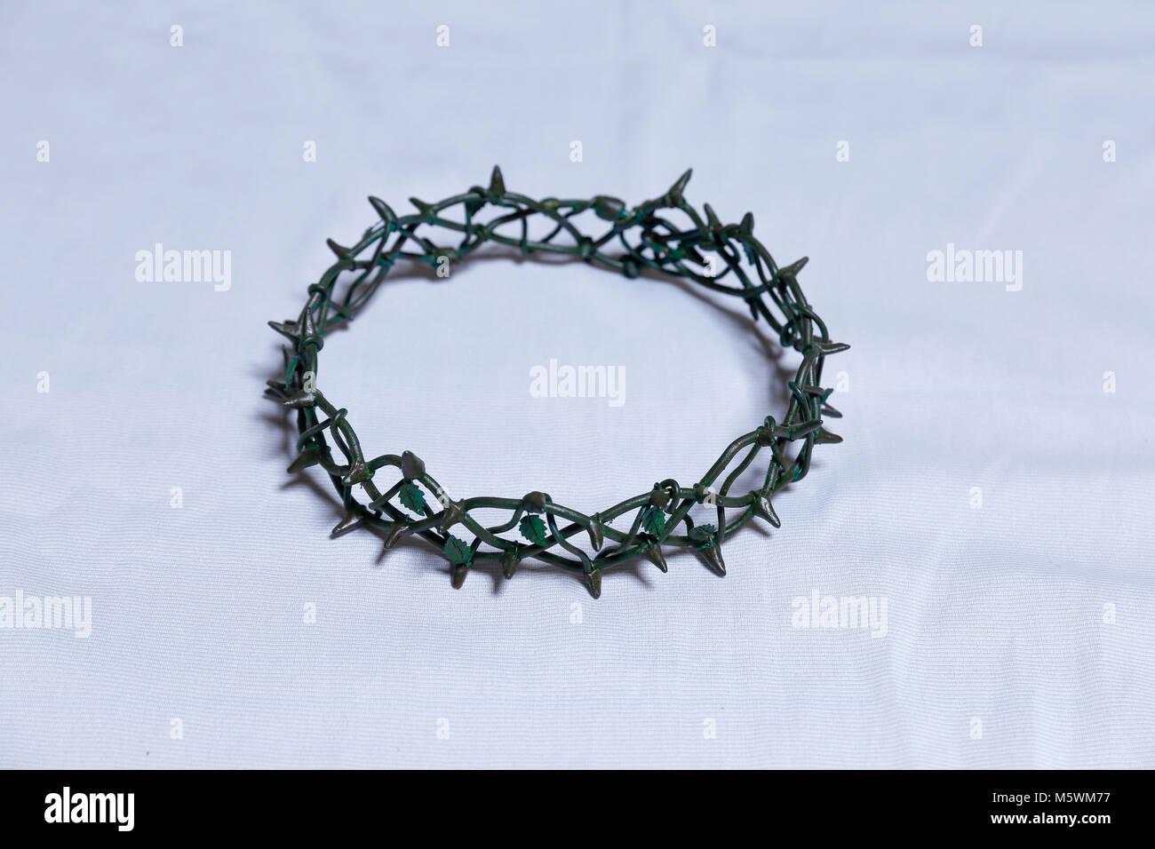 Symbol Of The Crown Thorn On Calvary Jesus Christ