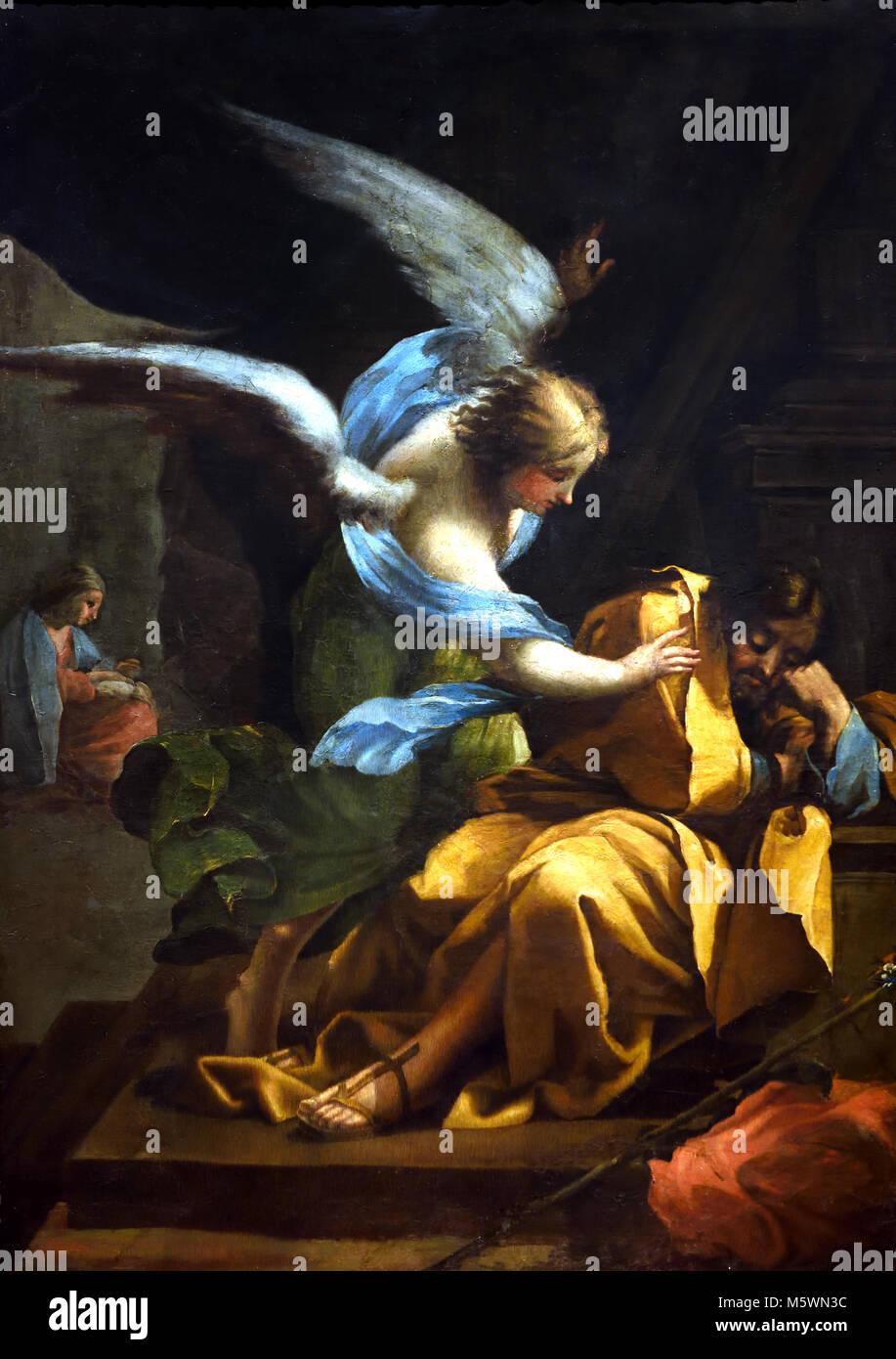 Dream of Saint Joseph 1772 FRANCISCO JOSÉ DE GOYA Y LUCIENTES (1746-1828) 18/19th, century, Spain, Spanish,( - Stock Image
