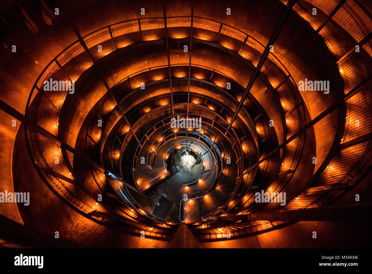 Ruakari Spiral Staircases - Stock Image
