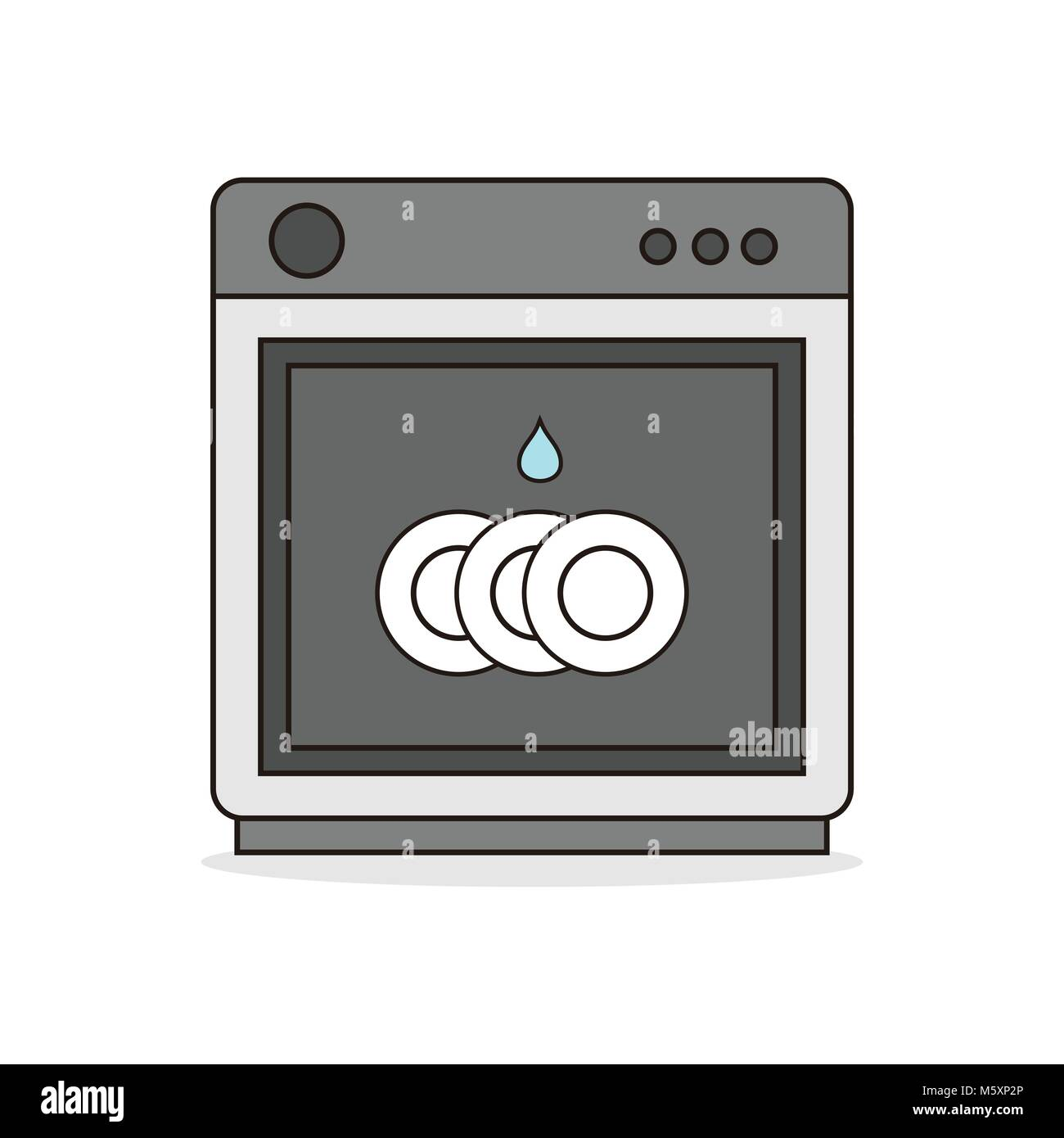 Washing machine logo stock photos washing machine logo stock kitchen washing machine vector illustration graphic design stock image buycottarizona Choice Image