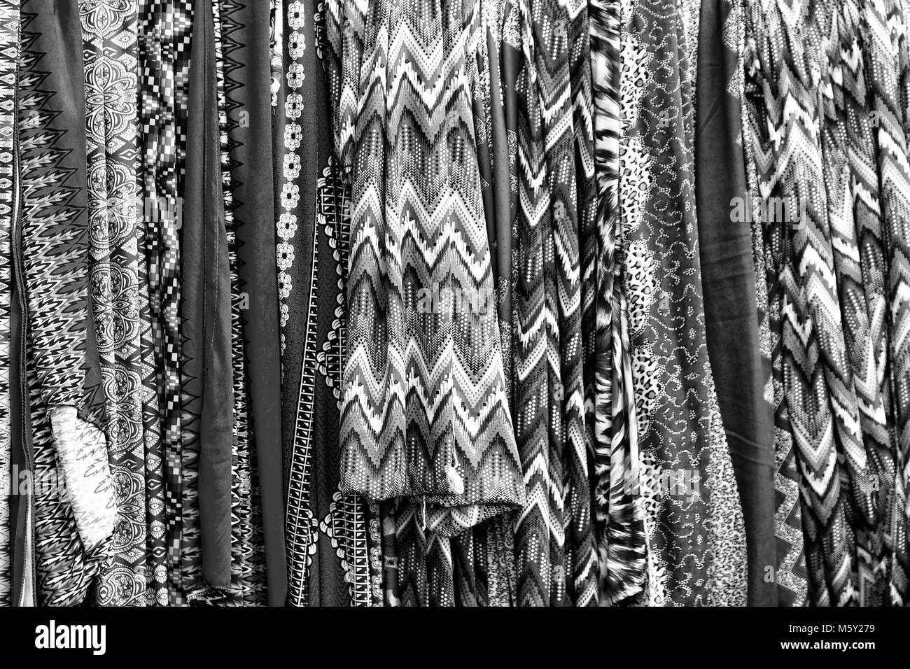 Africa Fabric Colorful Black and White Stock Photos & Images - Alamy