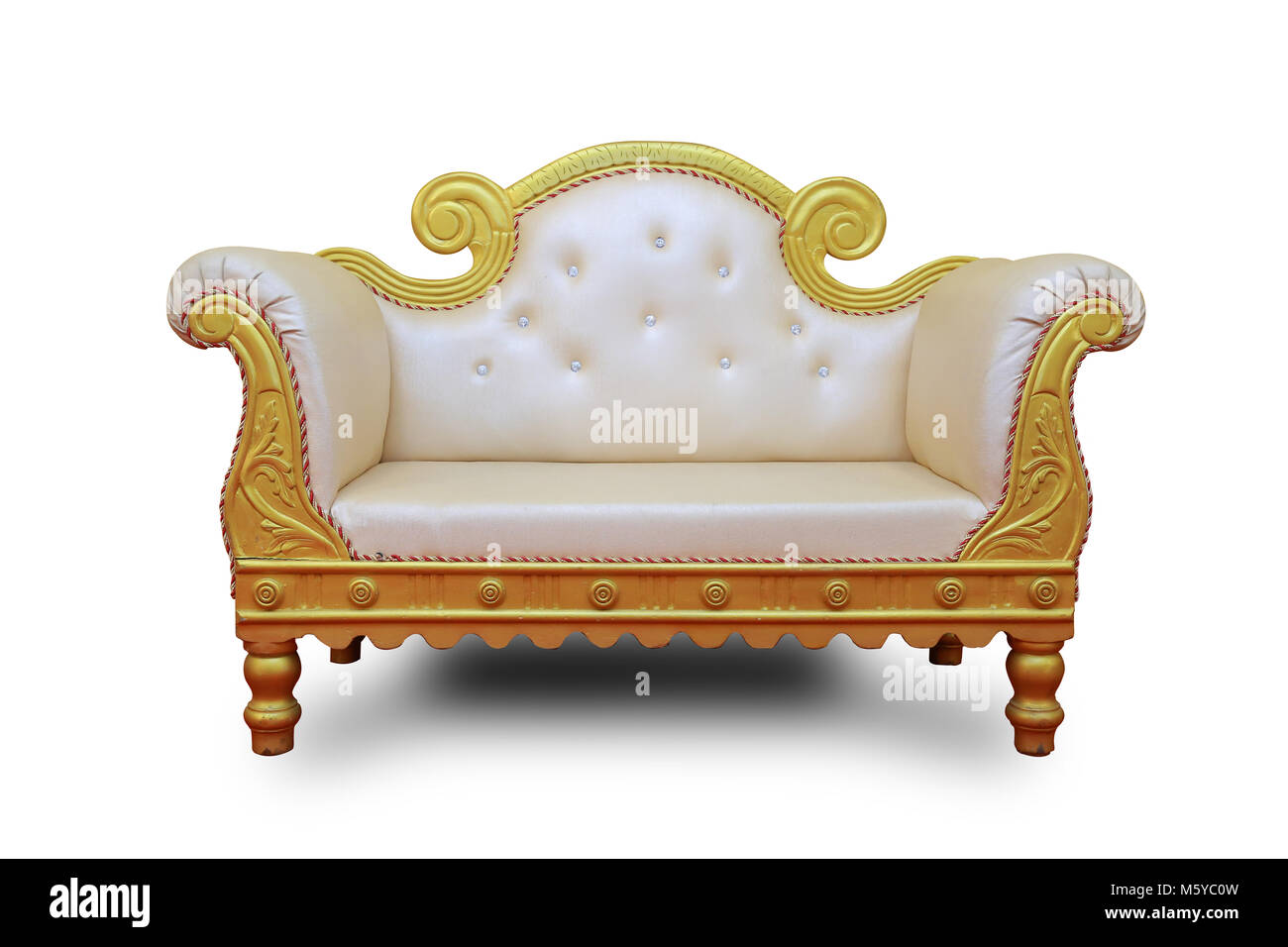 sofa set chairs for bride groom on white background stock photo alamy https www alamy com stock photo sofa set chairs for bride groom on white background 175779097 html